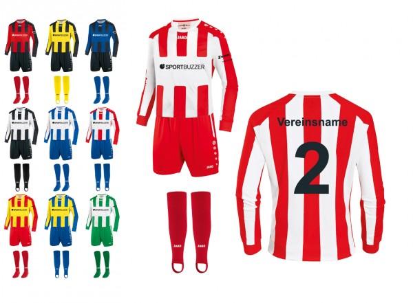 14er Trikotsatz Milan Kinder inkl. Beflockung* Sportbuzzer