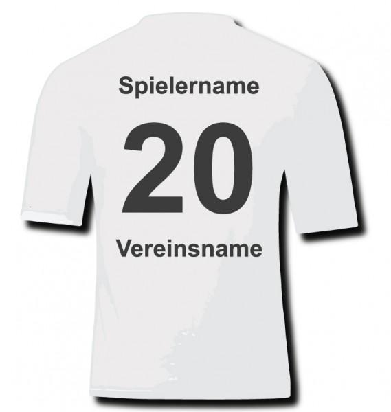Name & Nummer & Vereinsname