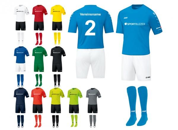 14er Trikotsatz Team inkl. Beflockung* Sportbuzzer